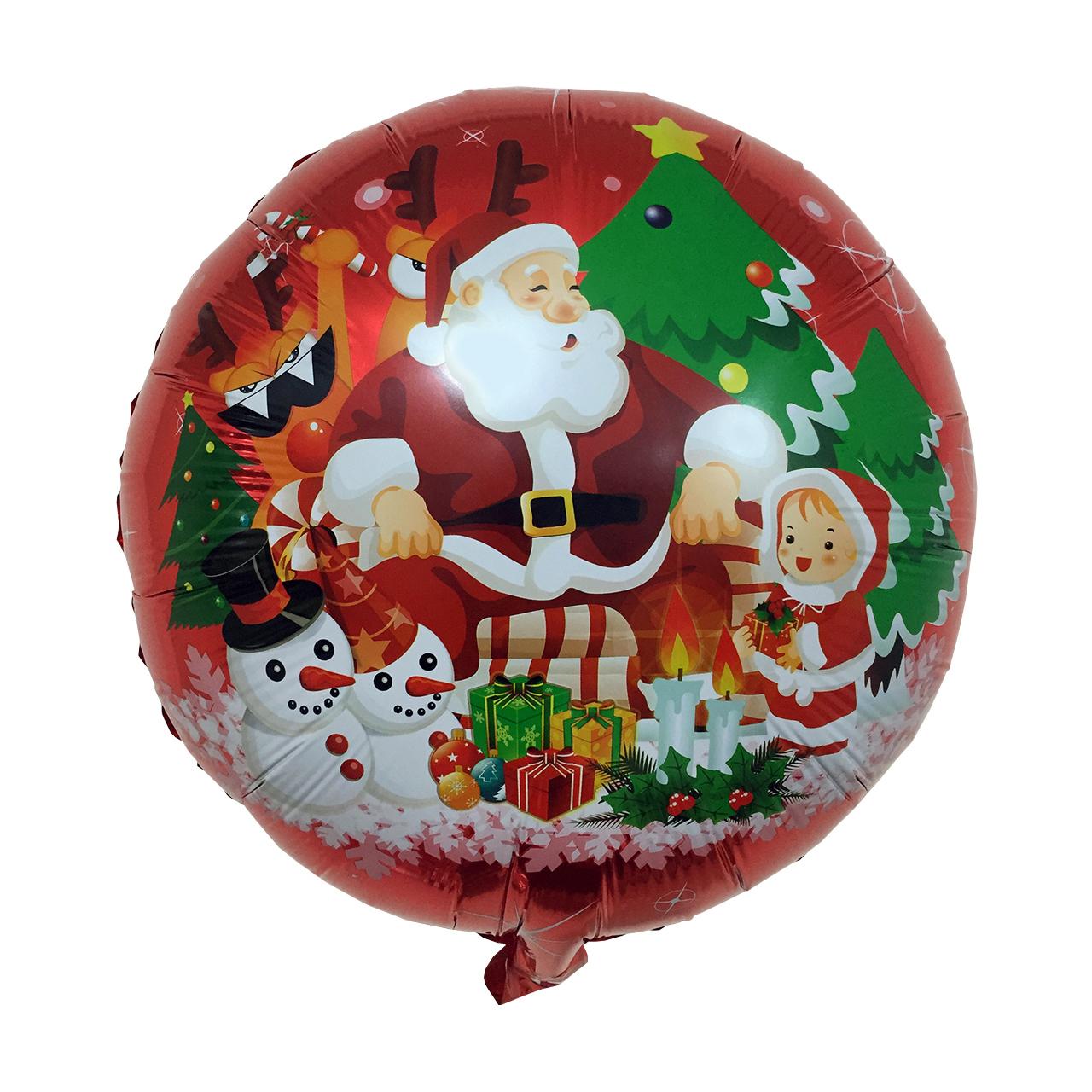 بادکنک سورتک طرح بابانوئل کریسمس مدل STCH179