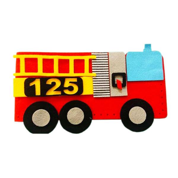 ساختنی خیاط کوچولو طرح آتش نشانی کد z2