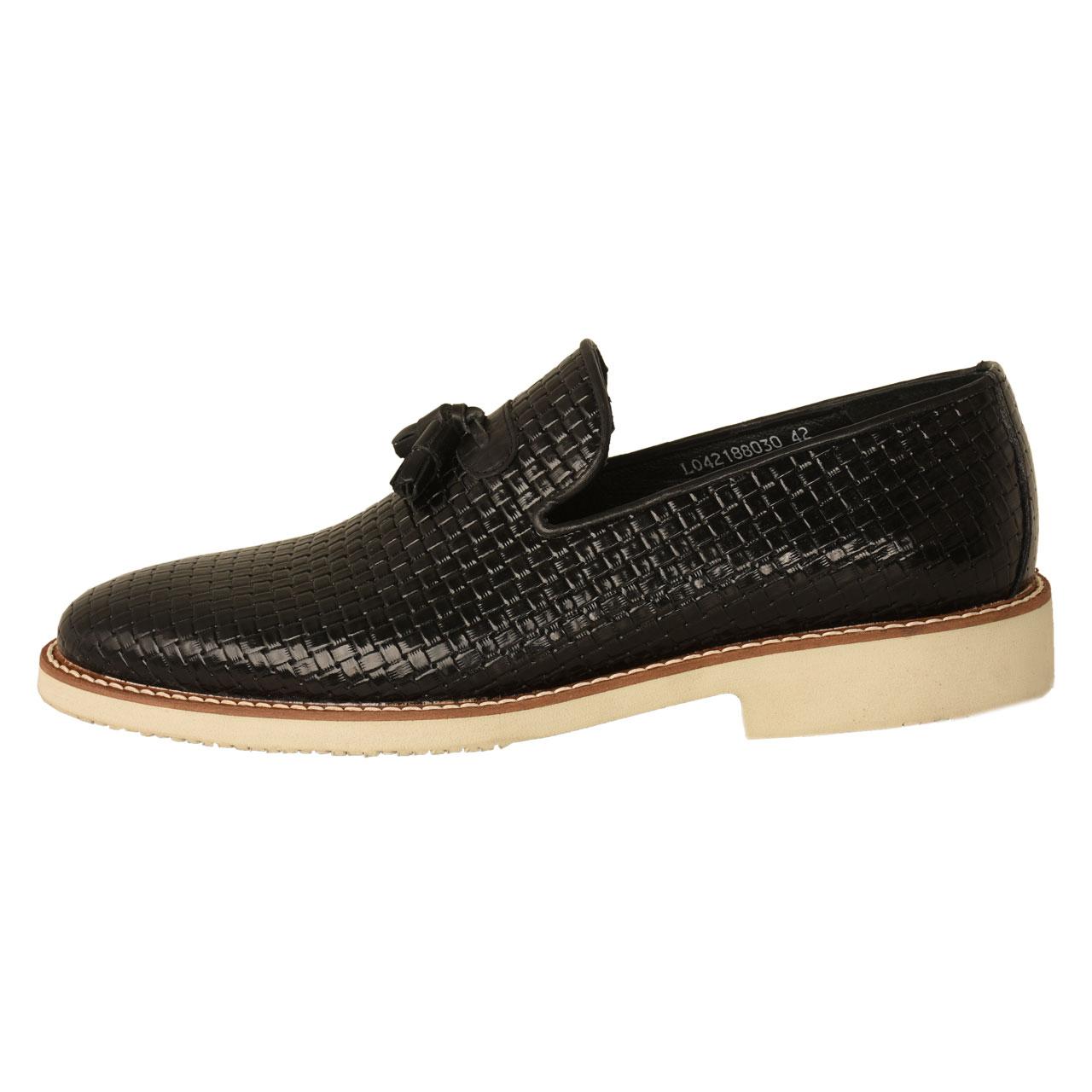 کفش مردانه کهن چرم مدل SHO119
