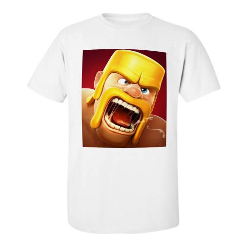 تی شرت مردانه مدل کلش اف کلن کد o24