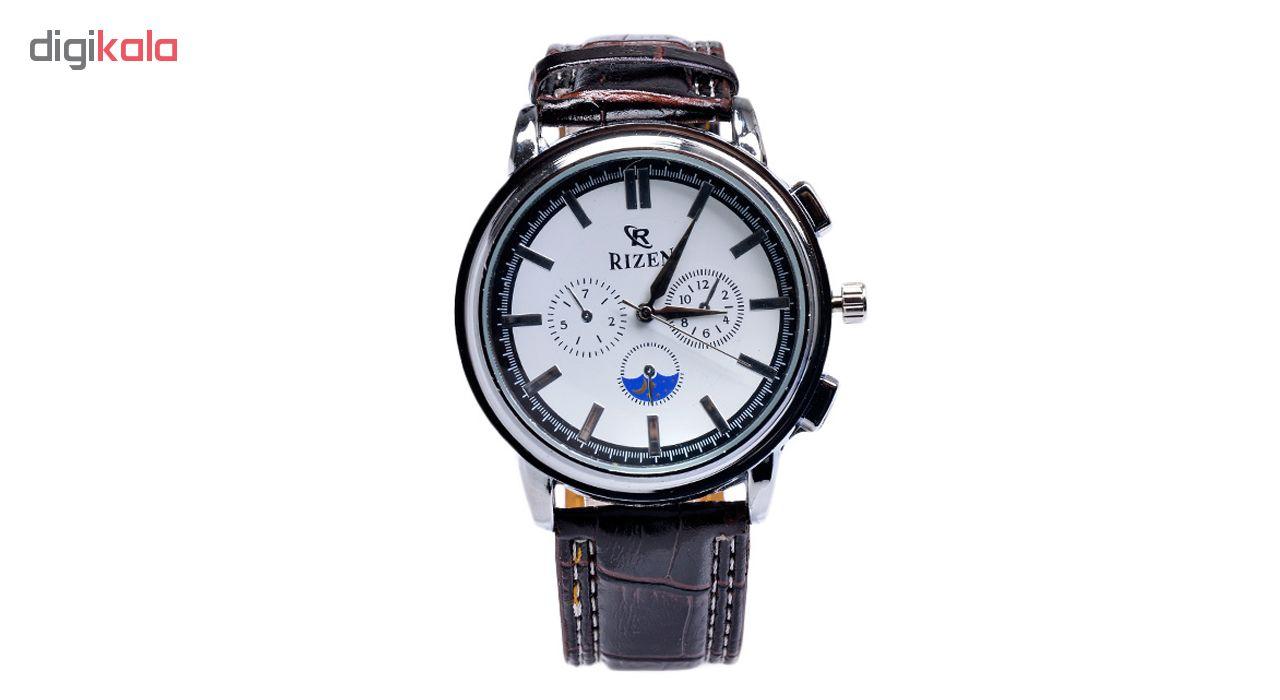 خرید ساعت مچی عقربه ای مردانه ریزن کد Rz-WBr