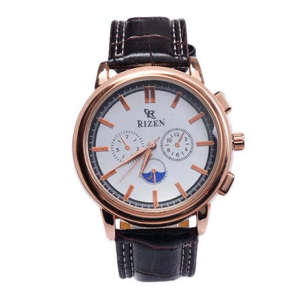 ساعت مچی عقربه ای مردانه ریزن کد Rz-WBr-RG