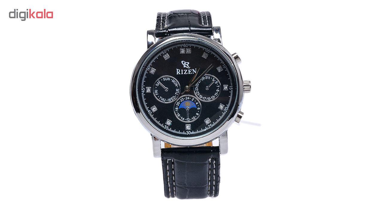 خرید ساعت مچی عقربه ای  مردانه ریزن کد Rz-Bk