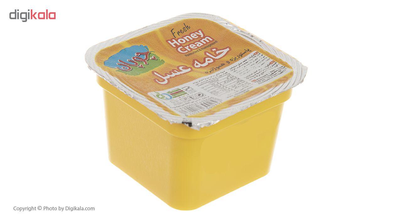 خامه عسل چوپان مقدار 100 گرم