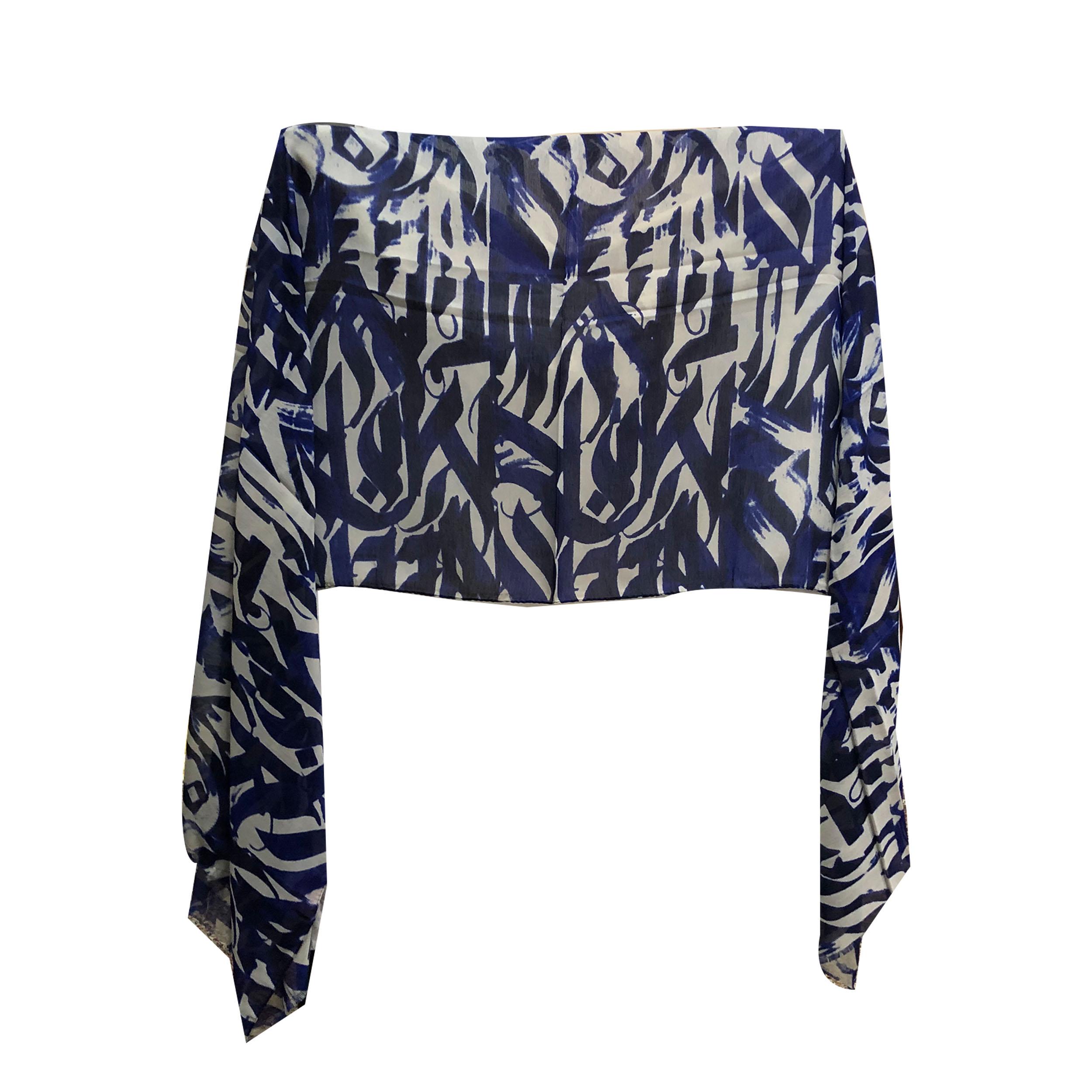 شال زنانه شاین نخی ریشه پرزی  کد 10003