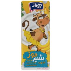 شیر موز هراز مقدار 0.2 لیتر