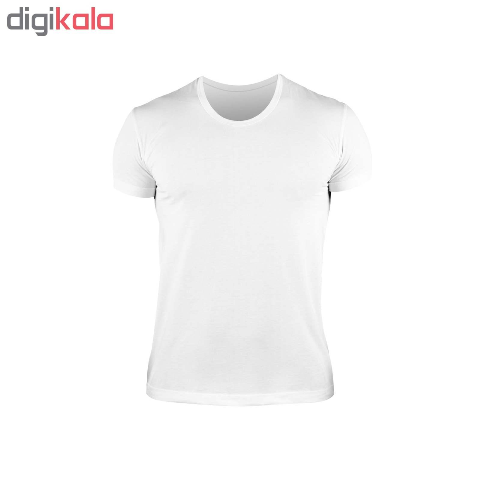 زیرپوش مردانه کیان تن پوش مدل U Neck Shirt Classic W مجموعه 12عددی main 1 2