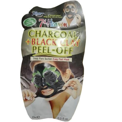 ماسک صورت مونته ژنه سری 7th Heaven مدل Charcoal& Black Clay حجم 10 میلی لیتر