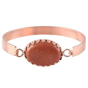 دستبند مسی گالری مثالین کد 149181 سایز L