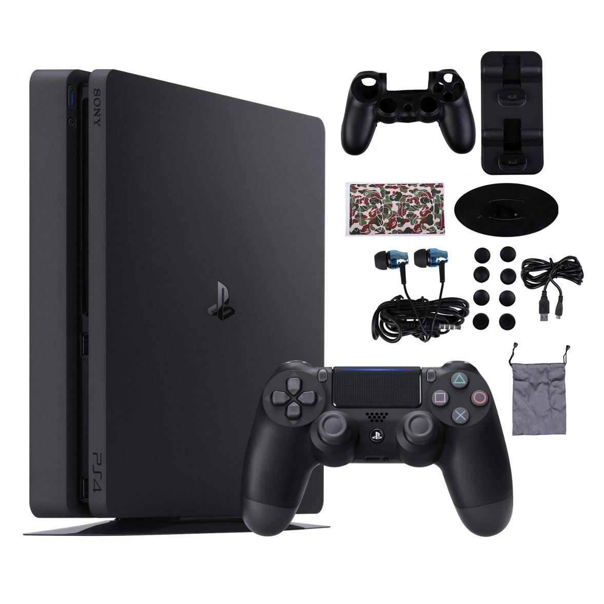 مجموعه کنسول بازی سونی مدل Playstation 4 Slim کد Region 2 CUH-2216A ظرفیت 500 گیگابایت