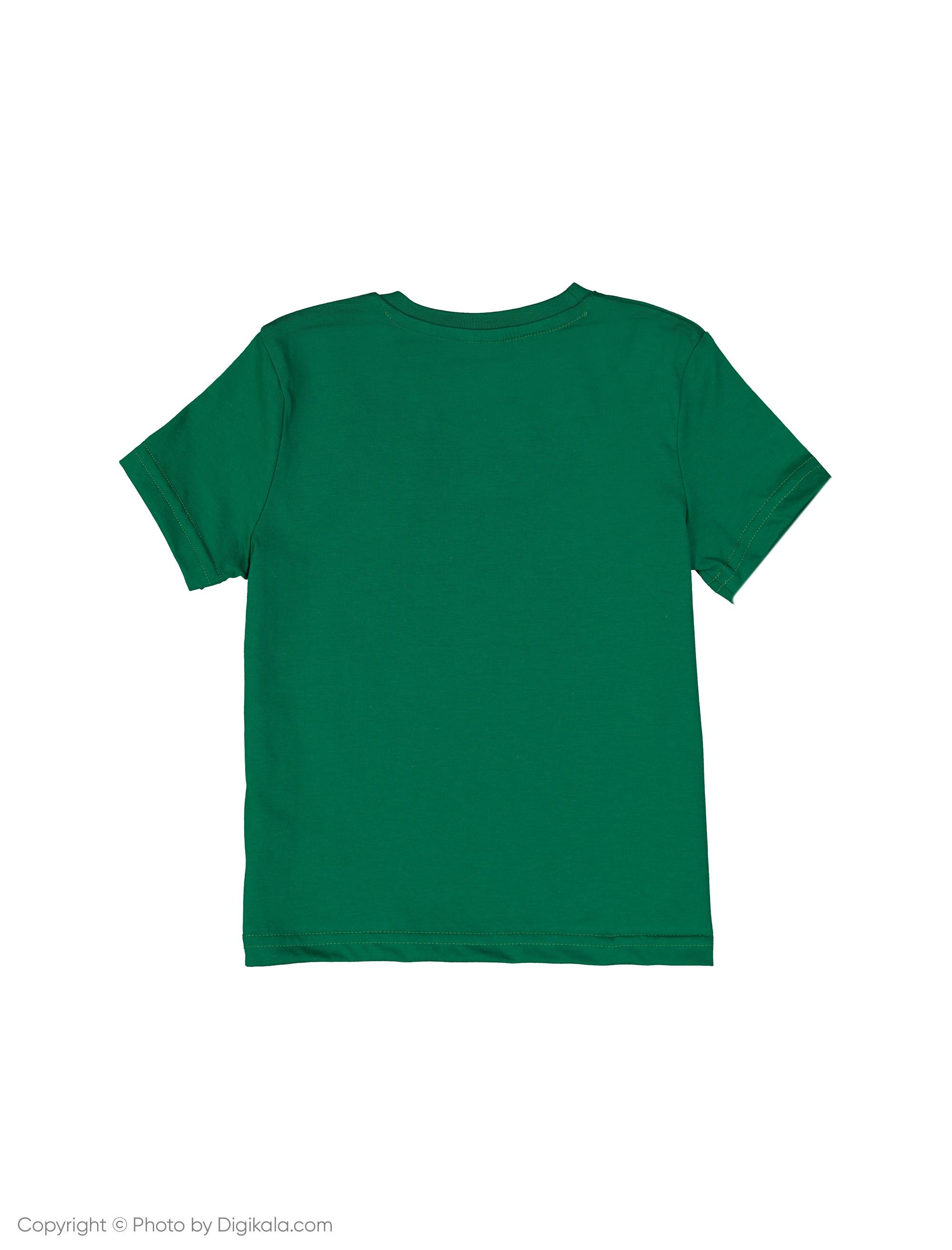تی شرت پسرانه ال سی وایکیکی مدل 9SI733N4-HAZ