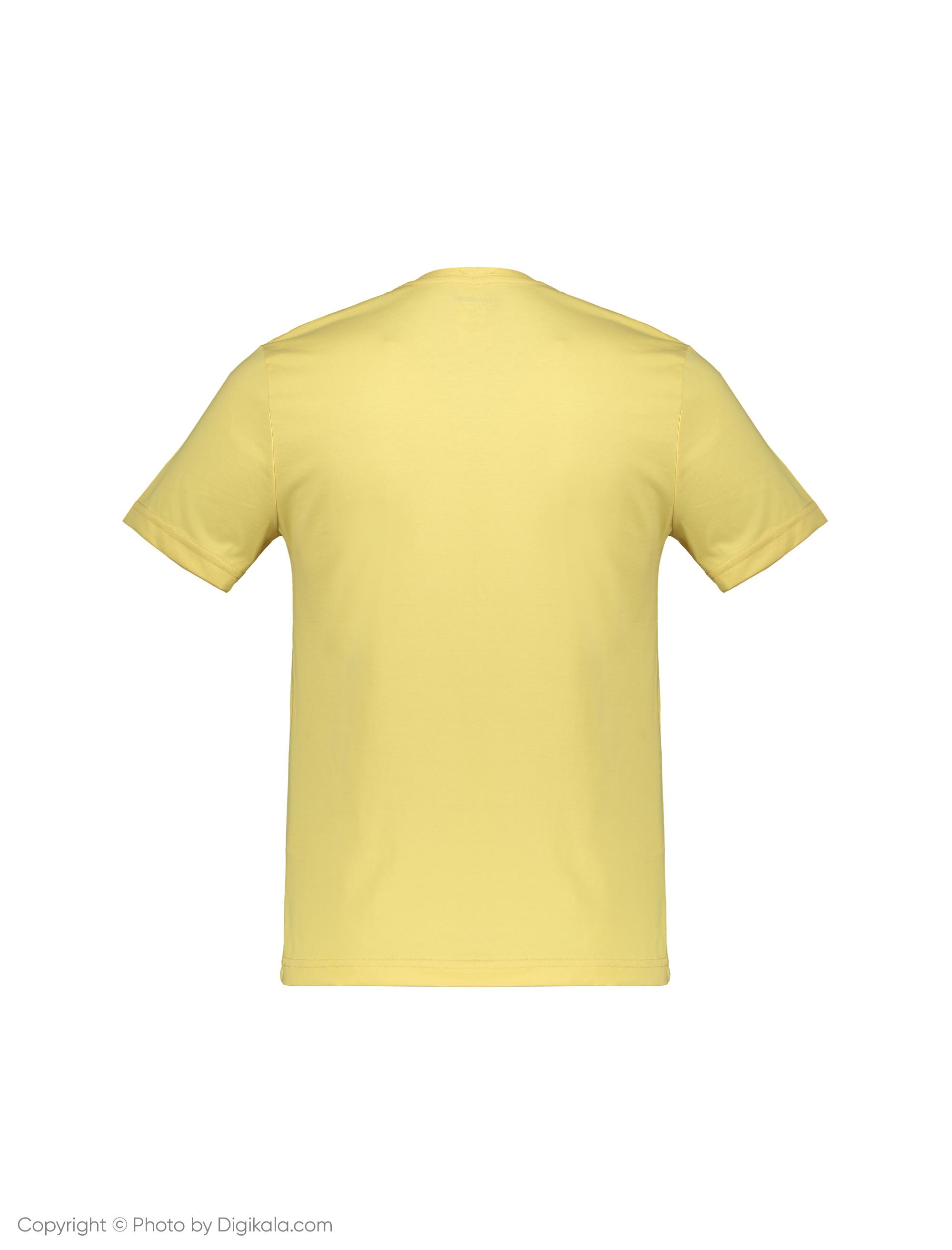 تی شرت مردانه ال سی وایکیکی مدل 9S4913I8-FQM