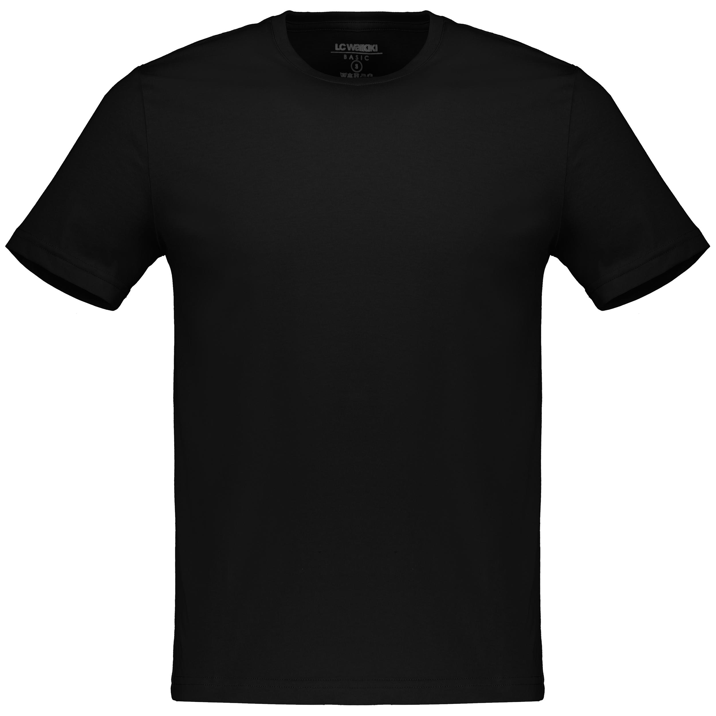 تی شرت مردانه ال سی وایکیکی مدل 9S4913O8-L6T