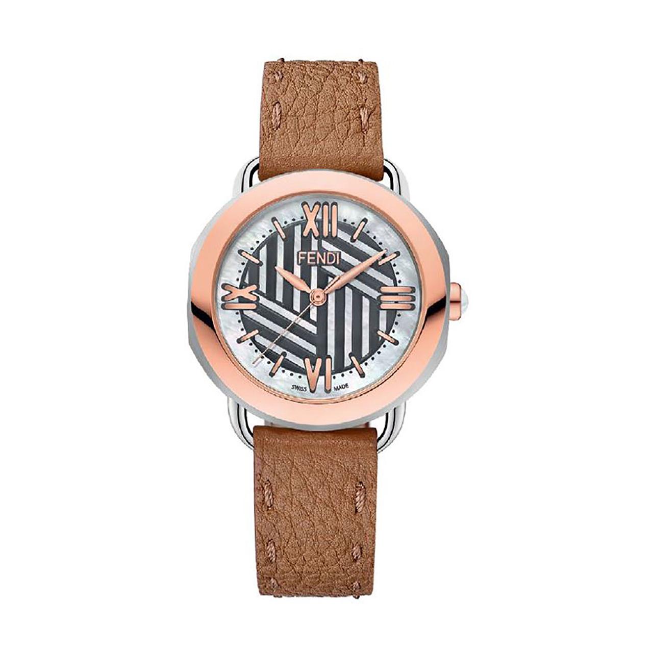 ساعت مچی عقربه ای زنانه فندی مدل F8112365H0