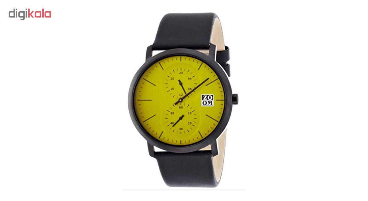 خرید ساعت مچی عقربه ای مردانه ZOOM مدل ZM.7100M.2511