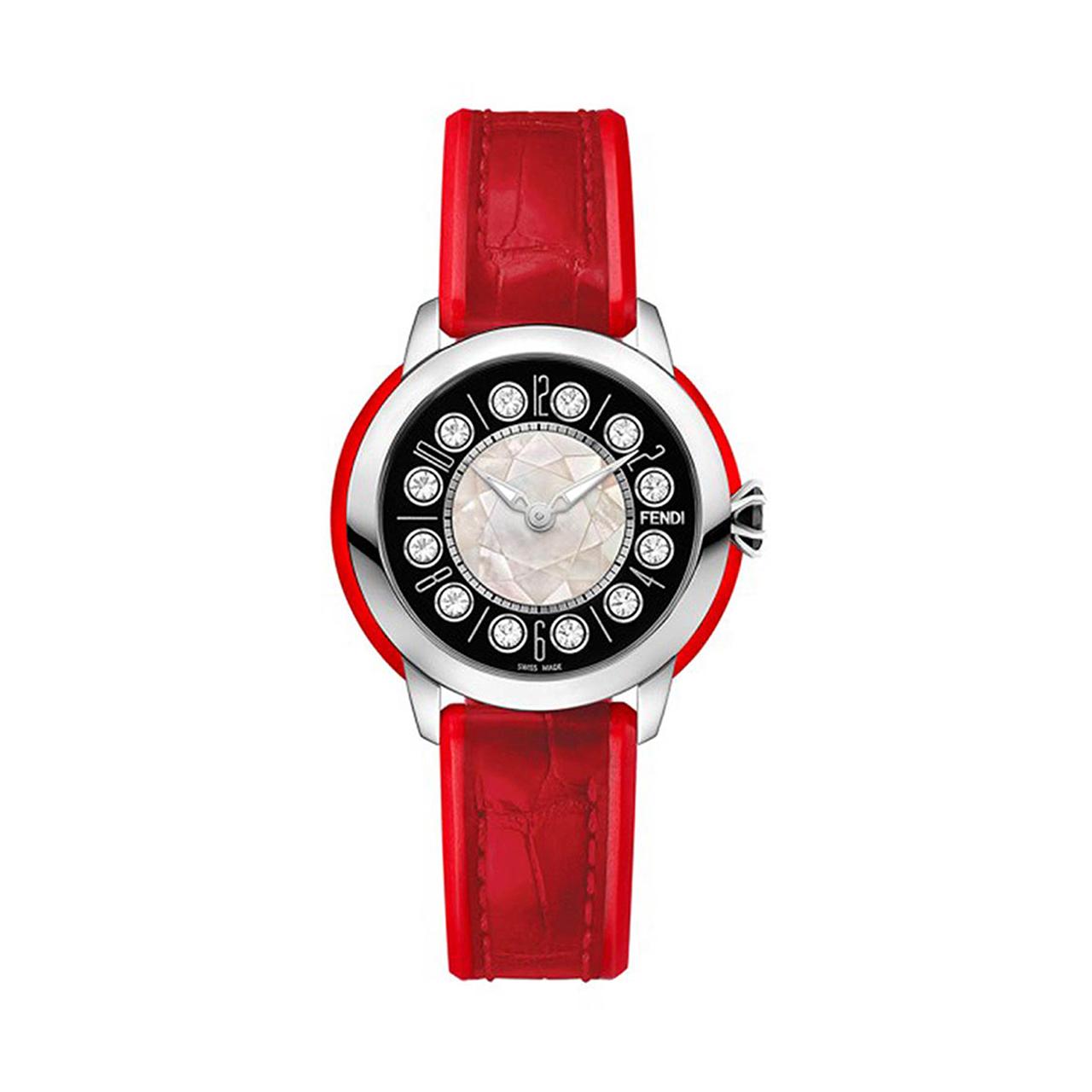 ساعت مچی عقربه ای زنانه فندی مدل F136021573T01