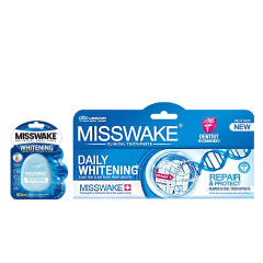 خرید                      خمیر دندان میسویک مدل Daily Whitening حجم 100میلی لیتر به همراه نخ دندان مدل withening