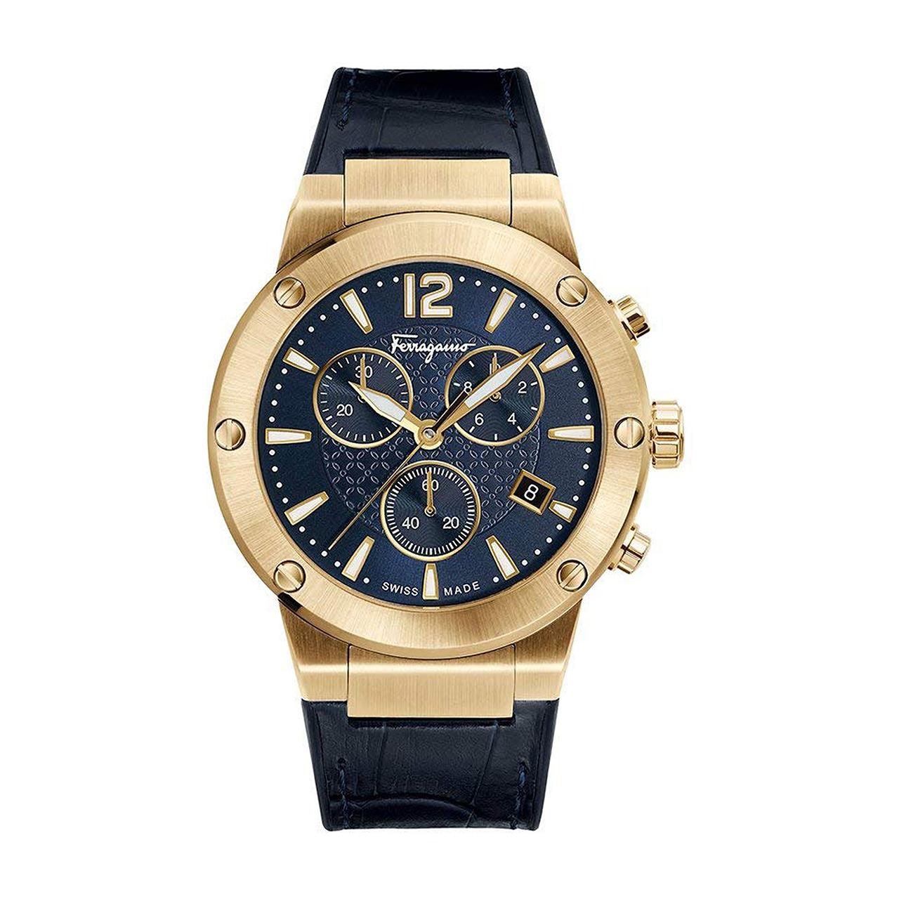 ساعت مچی عقربه ای مردانه سالواتوره فراگامو مدل FIJ060017