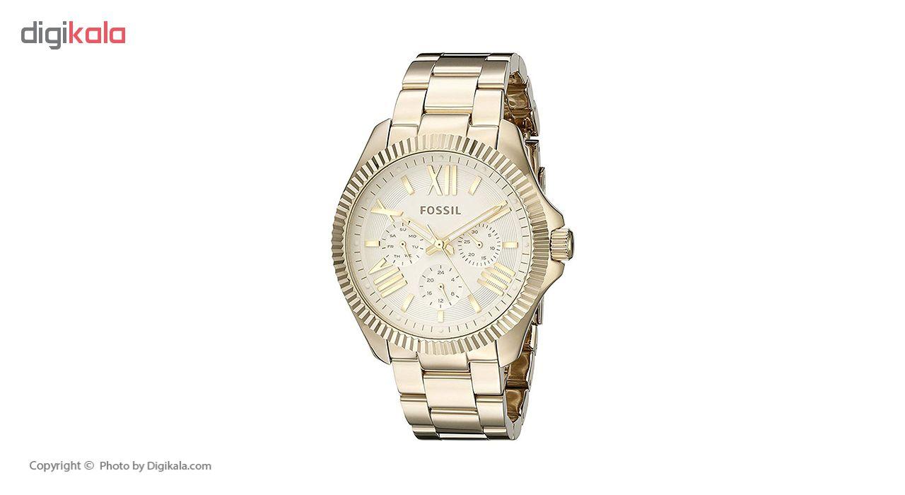 ساعت مچی عقربه ای زنانه فسیل مدل AM4570              ارزان