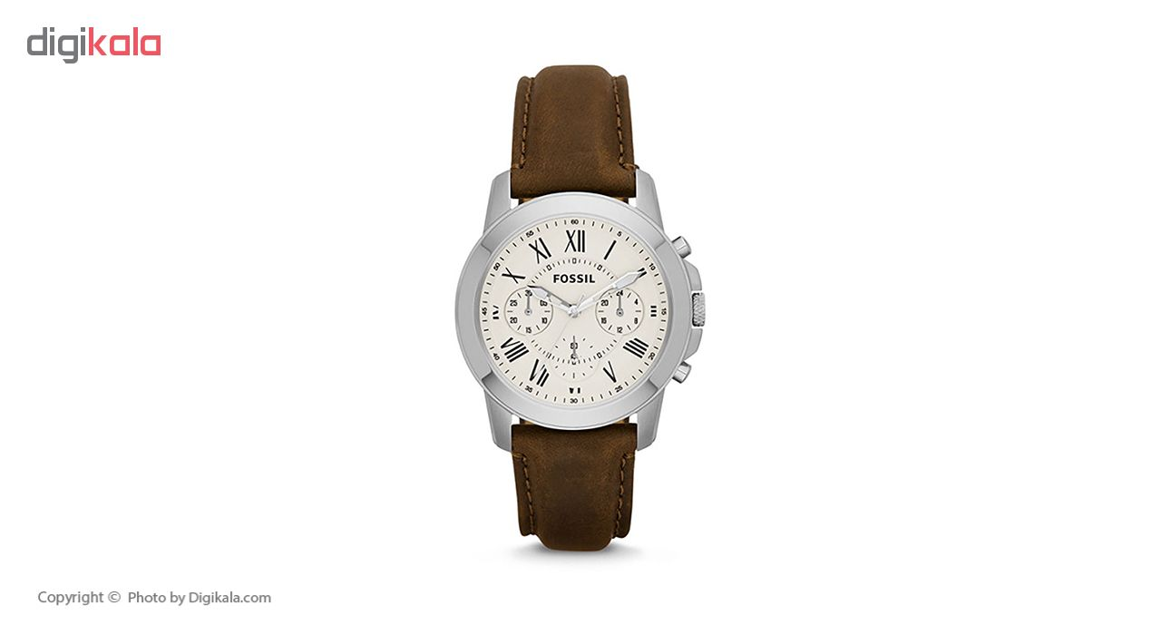خرید ساعت مچی عقربه ای مردانه فسیل مدل FS4839