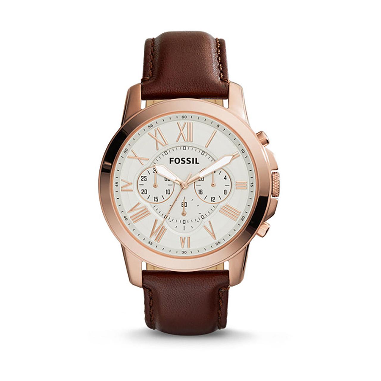 ساعت مچی عقربه ای مردانه فسیل مدل FS4991