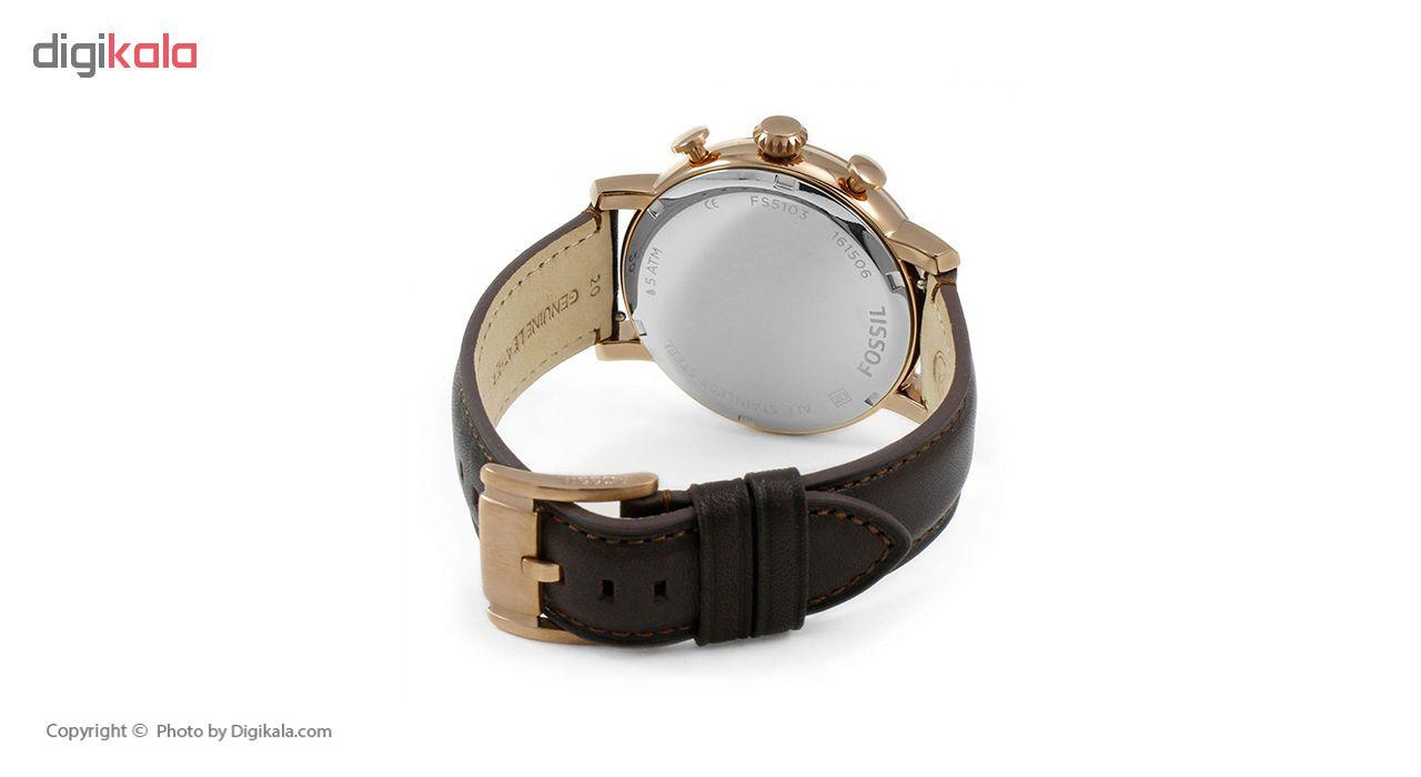 ساعت مچی عقربه ای مردانه فسیل مدل FS5103