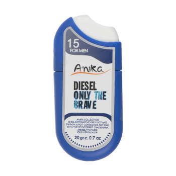 عطر جیبی مردانه آنیکا مدل Diesel Only The Brave حجم 20 میلی لیتر