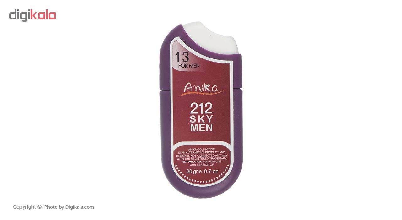 عطر جیبی مردانه آنیکا مدل Sky men 212 حجم 20 میلی لیتر main 1 1
