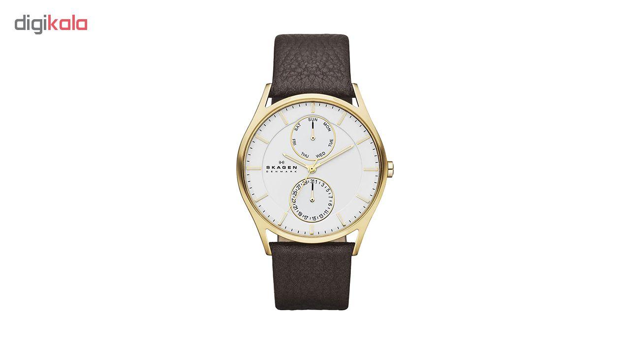 خرید ساعت مچی عقربه ای مردانه اسکاژن دانمارک مدل SKW6066