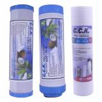 فیلتر دستگاه تصفیه آب خانگی سی سی  کا مدل OK-Filter Pack بسته 3 عددی |