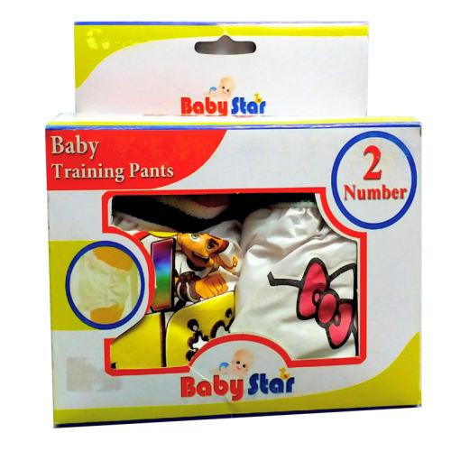 شورت آموزشی کودک مدل بیبی استار بسته 2 عددی کد3