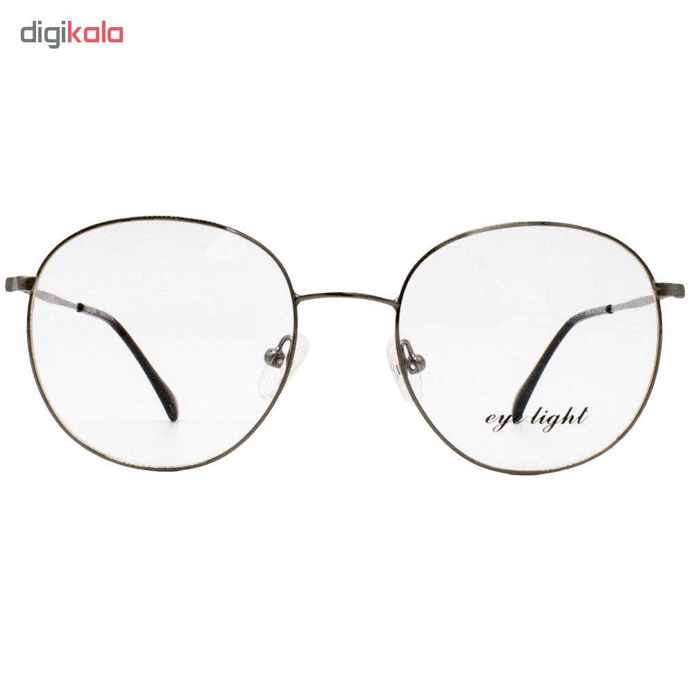 فریم عینک طبی آی لایت مدل IP186 رنگ دودی