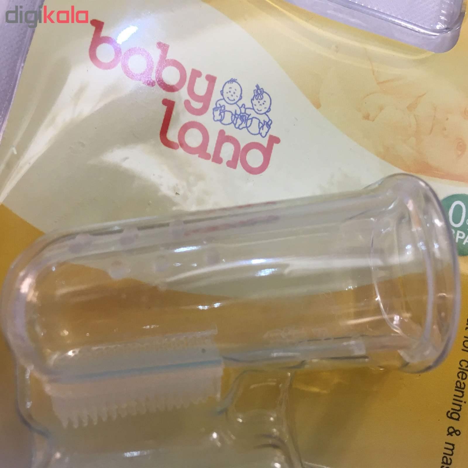 مسواک انگشتی نوزادی بیبی لند مدل 5004 thumb 3