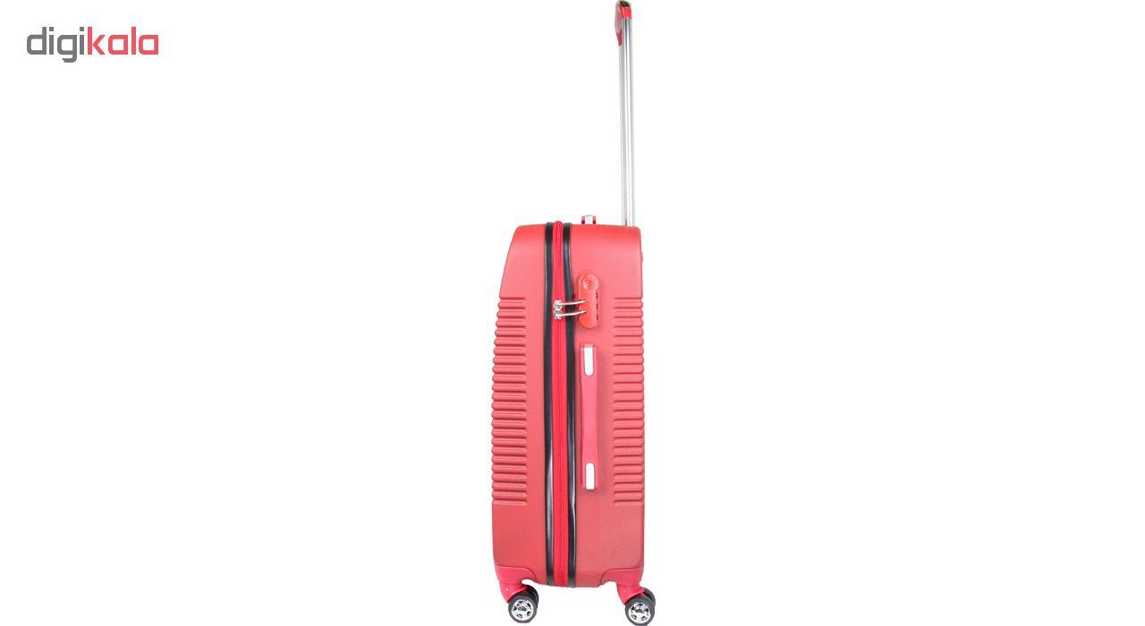 چمدان هارد رُزانا مدل 180102 سایز متوسط