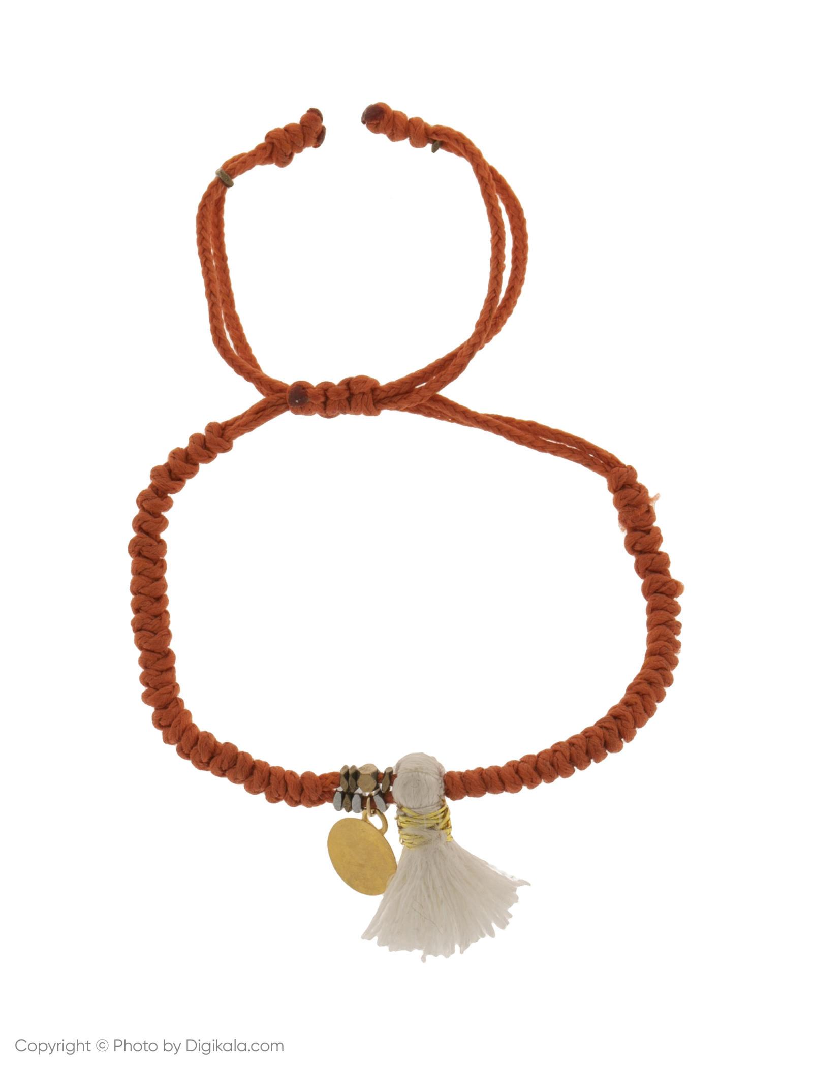 دستبند طلا 18 عیار دخترانه گرامی گالری مدل B640 -  - 1