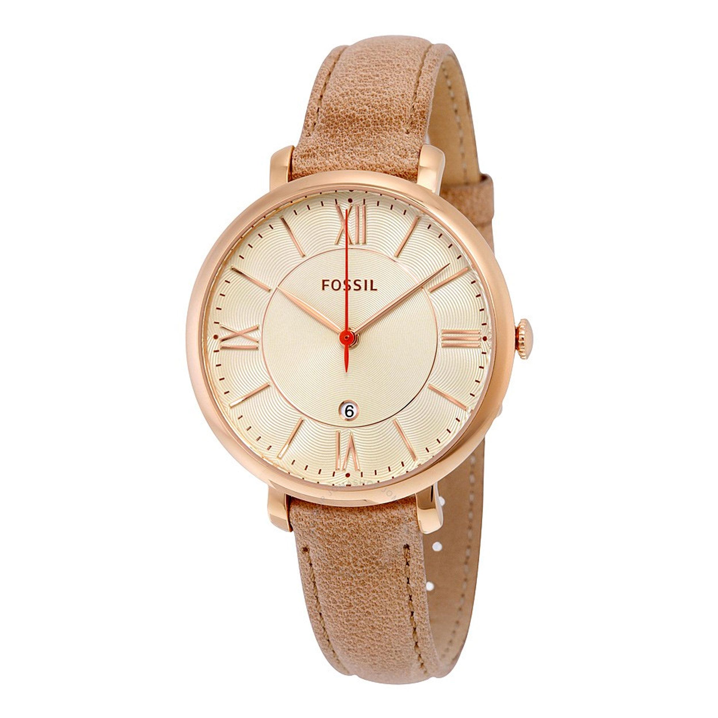 خرید ساعت مچی عقربه ای زنانه فسیل مدل ES3487