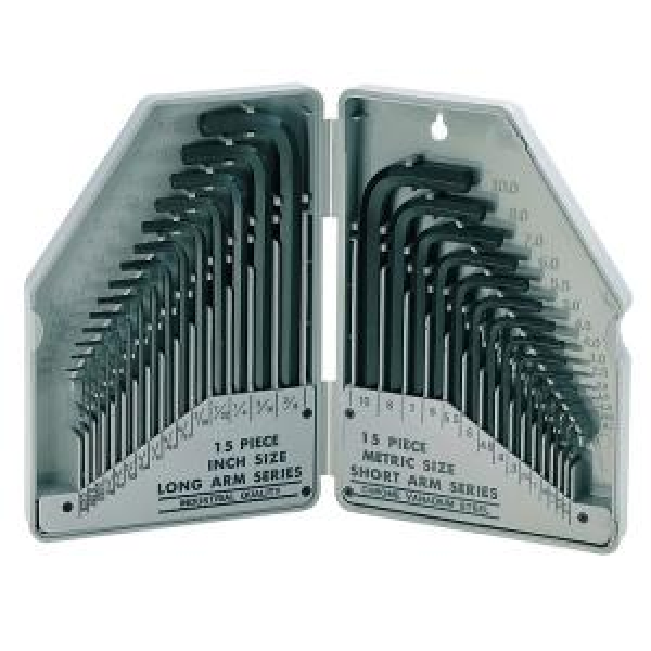 مجموعه 30 عددی آچار آلن پروسکیت مدل 8PK-027