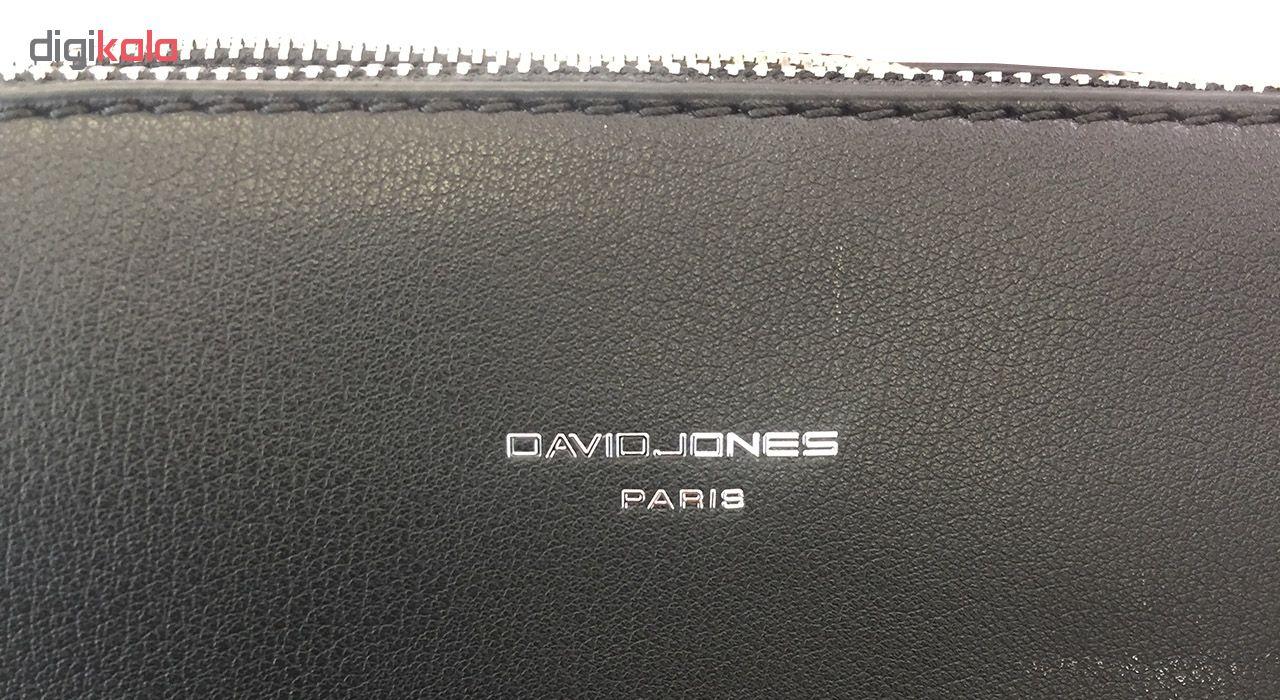 کیف رو دوشی زنانه دیوید جونز مدل 5824-2