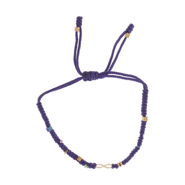 دستبند طلا 18 عیار دخترانه گرامی گالری مدل B629