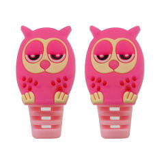 محافظ کابل شارژ طرح Owl کد B1 بسته دو عددی