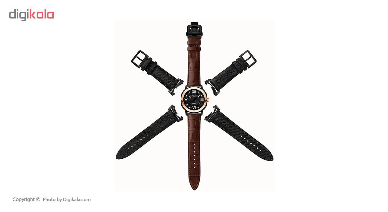 کد تخفیف                                      ساعت مچی عقربه ای مردانه فندی مدل F820211011