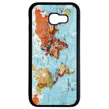 کاور طرح نقشه جهان کد 8339 مناسب برای گوشی موبایل سامسونگ galaxy a7 2017