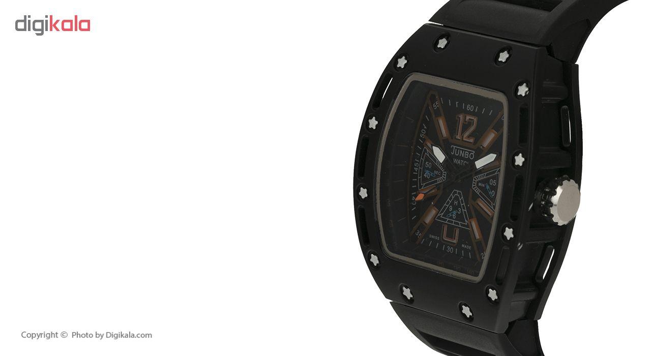 خرید ساعت مچی عقربه ای مردانه جانبو مدل 45865