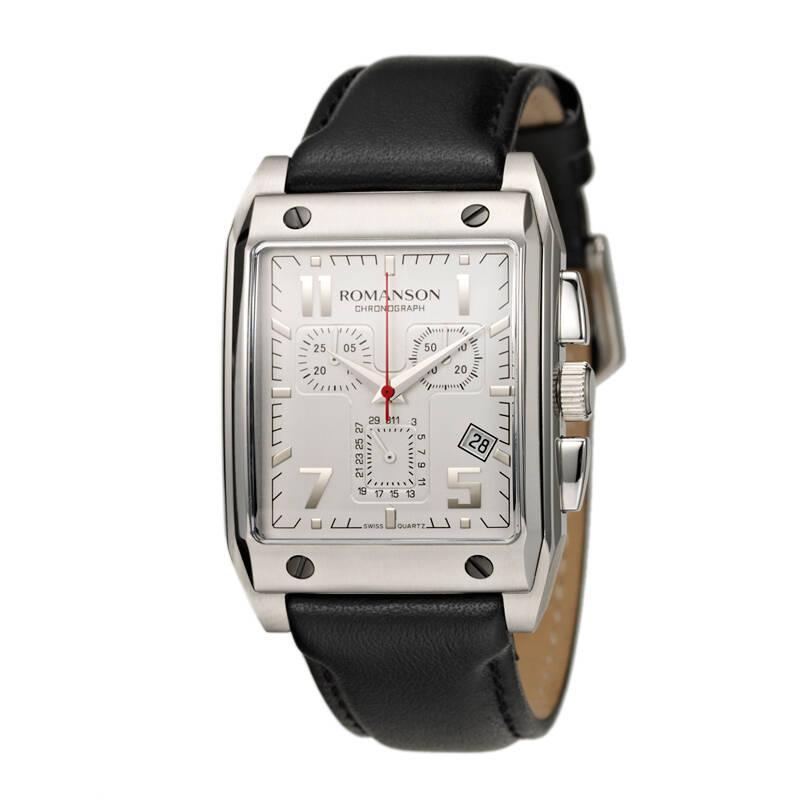 ساعت مچی عقربه ای مردانه رومانسون مدل TL3217HM1DAS2W