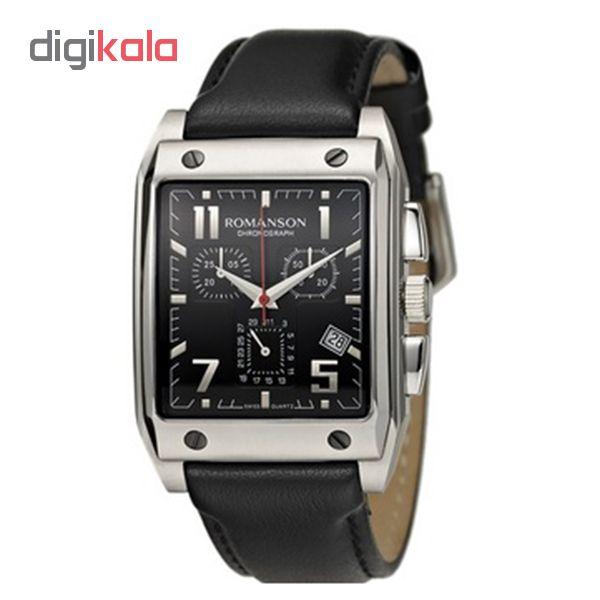 کد تخفیف                                      ساعت مچی عقربه ای مردانه رومانسون مدل TL3217HM1DA32W