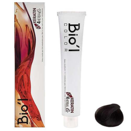 رنگ موی بیول سری Natural مدل HERBAL شماره 5.0 حجم 100 میلی لیتر رنگ قهوه ای روشن