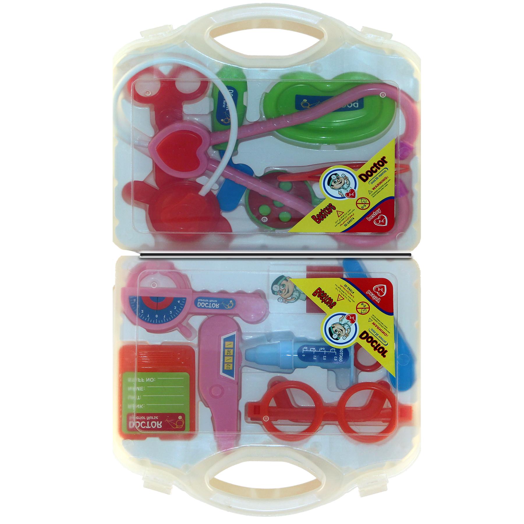 خرید                     اسباب بازی ست تجهیزات پزشکی کد SP35