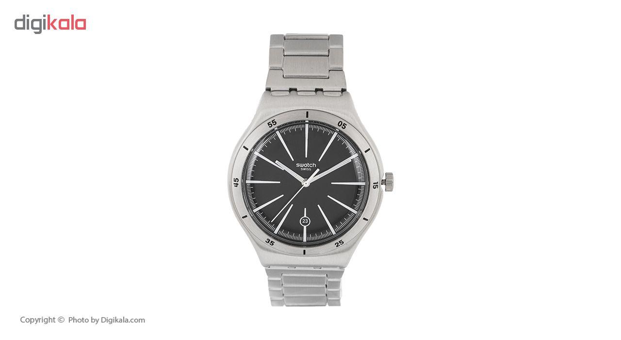 ساعت مچی عقربه ای مردانه سواچ مدل YWS409G-2