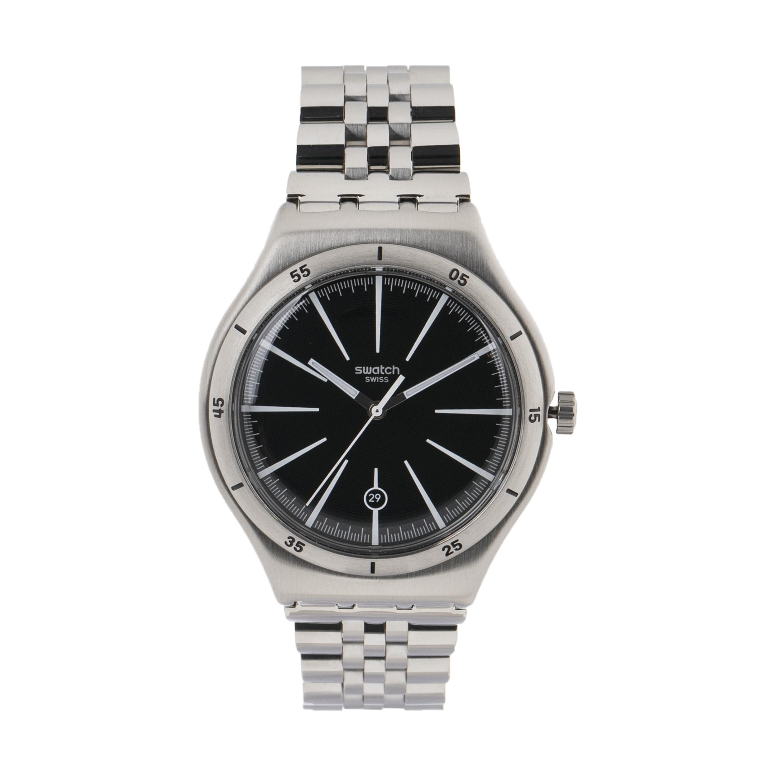 ساعت مچی عقربه ای مردانه سواچ مدل YWS409G-1