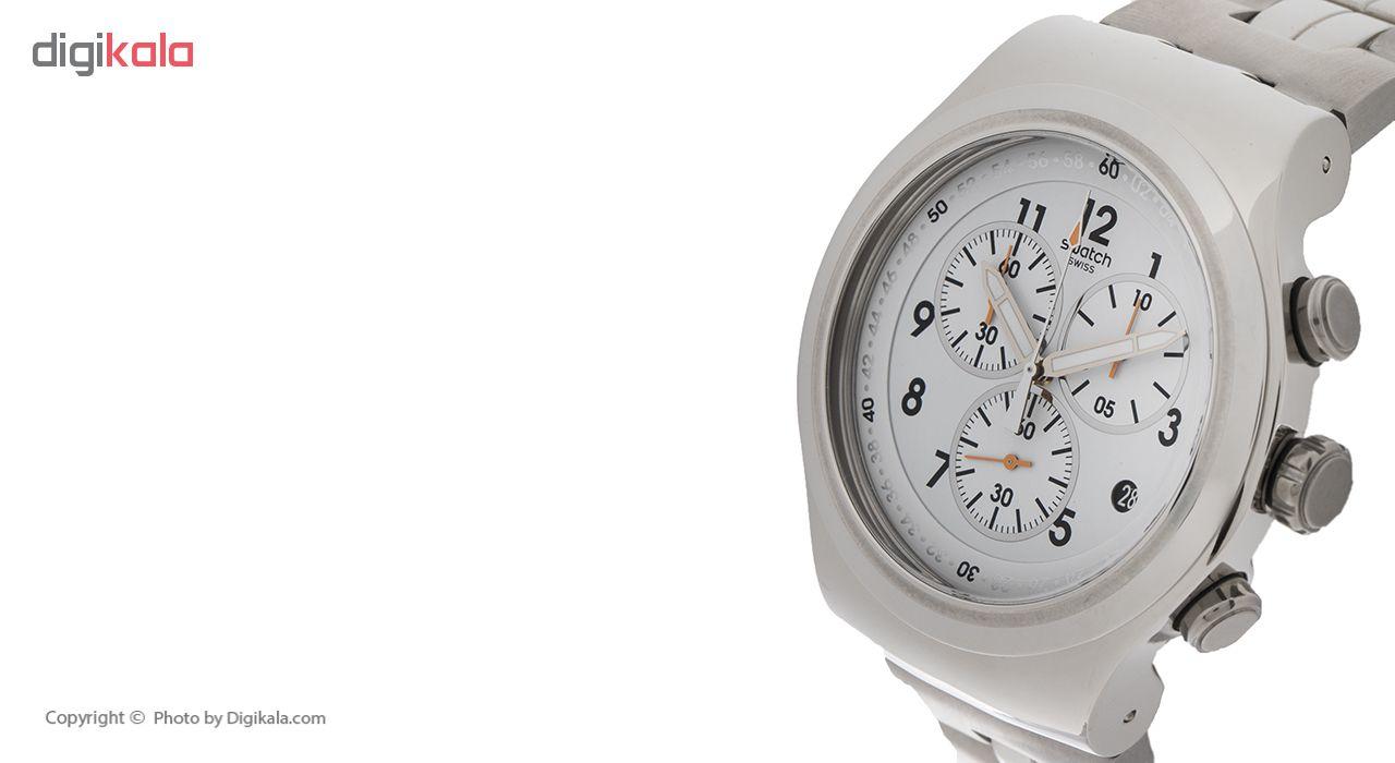ساعت مچی عقربه ای مردانه سواچ مدل YOS451G